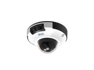 กล้องวงจรปิดป้องกันการทุบ ระบบIP Vandal Network IR Mini Dome (Sunell)